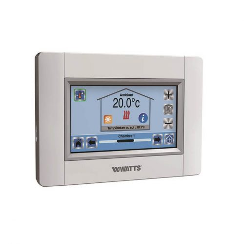 WIFI central unit with resistive touchscreen display