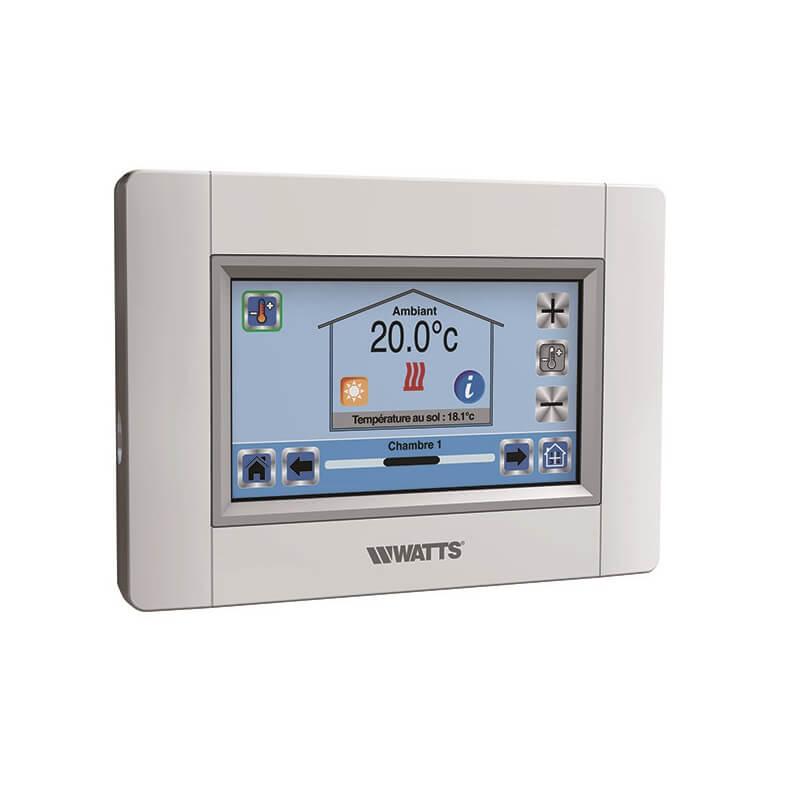 TERMOSTATI E CRONOTERMOSTATI Per gestire e controllare in modo semplice ed efficiente il funzionamento dei termoarredi HOM, anche da remoto con wifi.