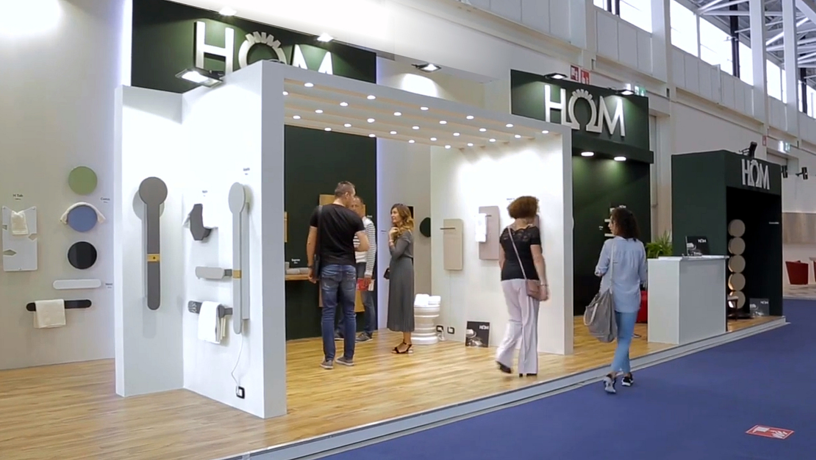 HOM participated in the 2019 edition of Cersaie