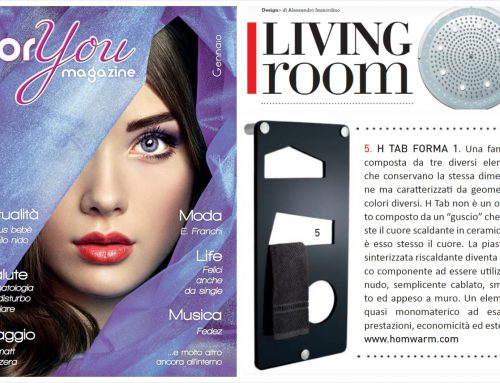 LIVING ROOM. SPECIALE ARREDO BAGNO (FOR YOU Magazine Rome, Italy)