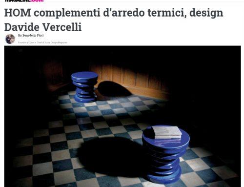 HOM COMPLEMENTI D'ARREDO TERMICI, DESIGN DAVIDE VERCELLI (www.socialdesignmagazine.com)